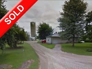 SOLD: 152 Acres with House & Finishing Barn in Mt Elgin!