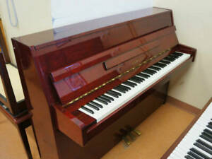 Used Piano - Stunning Yamaha Upright Burgundy Used Piano