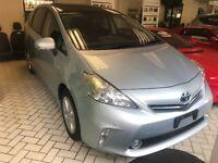 Toyota Prius+ T Spirit 7 Seater Automatic Aqua Blue 2013