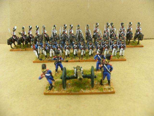 15mm Napoleonic painted Bavarian Collection package (45 Foot)