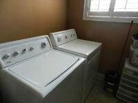 Washer & Dryer in Working condition ,We are buying the new ones