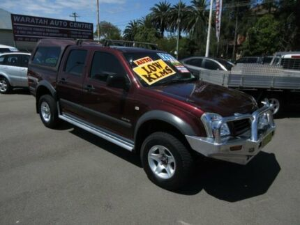 2004 Holden Rodeo RA LX Burgundy 4 Speed Automatic Space Cab Pickup