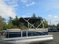 18' Bennington Pontoon Boat with a 40 HP Yamaha 4-Stroke