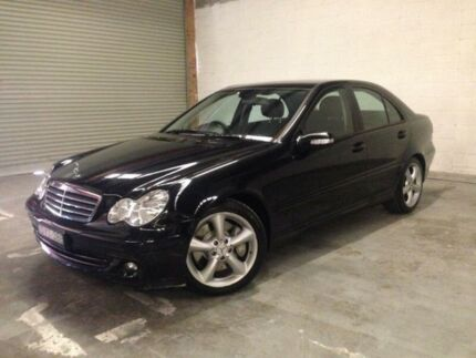 2006 Mercedes-Benz C180 Black Automatic Sedan West Gosford Gosford Area Preview