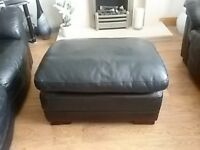 Footstool and sofas for sale