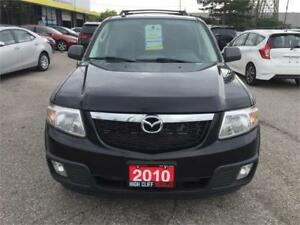 2010 Mazda Tribute Fully Loaded 4x4 BAM/CAM Leather Certified