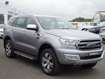 2017 Ford Everest UA 2018.00MY Titanium Silver 6 Speed Sports Automatic Wagon Albion Park Rail Shellharbour Area Preview