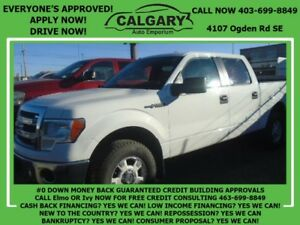 2013 Ford F-150 XLT   *$28 DOWN EVERYONE APPROVED*