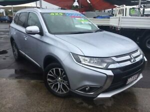 2015 Mitsubishi Outlander ZK MY16 XLS 4WD Silver 6 Speed Constant Variable Wagon Bungalow Cairns City Preview