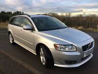 Stunning Volvo V50 Estate 2.0 D R-Design 5dr