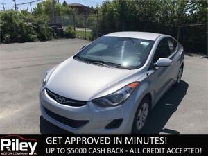 2013 Hyundai Elantra L STARTING AT $93.02 BI-WEEKLY