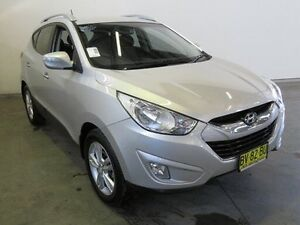 2013 Hyundai ix35 LM MY13 Elite (AWD) Silver 6 Speed Automatic Wagon Westdale Tamworth City Preview