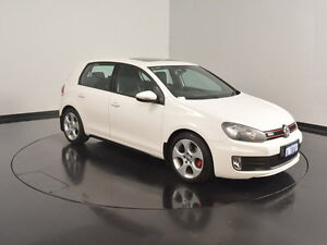 2012 Volkswagen Golf VI MY13 GTI DSG White 6 Speed Sports Automatic Dual Clutch Hatchback Welshpool Canning Area Preview