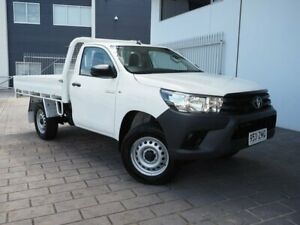 2017 Toyota Hilux GUN125R Workmate White Sports Automatic Springwood Logan Area Preview