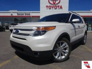 2015 Ford Explorer LIMITED V6 AWD/CLEAN CARPROOF/1 OWNER/LEATHER