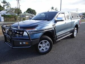2013 Ford Ranger PX XLT 3.2 HI-Rider (4x2) Blue 6 Speed Automatic Super Cab Pick-up Bungalow Cairns City Preview