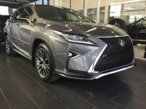 2017 Lexus RX 350 F SPORT, HEATED/COOLED SEATS, SUNROOF