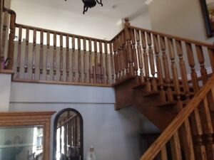 Stairs - Solid Oak