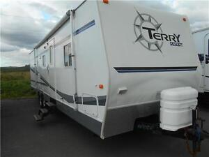 WOW!!! Terry Model 3102 Bunk House Travel Trailer with 2 Slides.