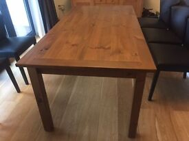 Dining Room Table - Solid Wood Walnut stain