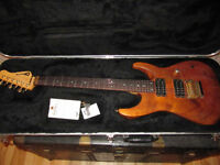 Rare Charvel Jackson Koa custom shop 1994 early model 24 fret
