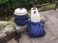 Aqua Roll and Wastemaster with Waterproof Covers