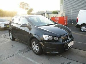 2015 Holden Barina TM MY15 CD Black 6 Speed Automatic Hatchback Moorabbin Kingston Area Preview