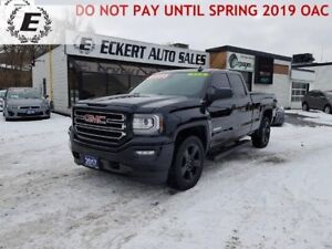 2017 GMC SIERRA 1500 ELEVATION, 5.3L LOW KMS 4X4