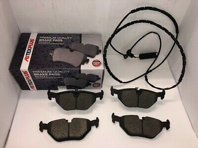 Rear Brake Pads Fits BMW 3 Series E46 1998-2005...With Sensor Wire Included