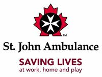 St John Ambulance Community Care course October 20th