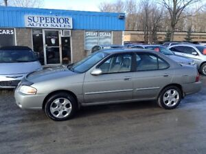 2006 Nissan Sentra 1.8 Special Edition Fully certified and Etest