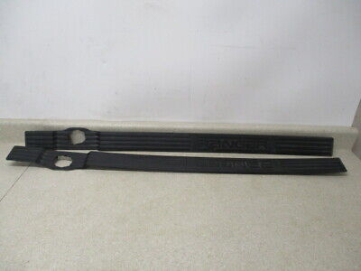 Oem 98 to 11 Ford Ranger Left, Right Front 2 Door Sill Scuff Plates with Emblem