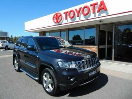 2012 Jeep Grand Cherokee WK MY12 Overland (4x4) Blue 5 Speed Automatic Wagon Wy Yung East Gippsland Preview