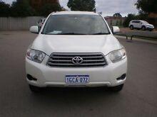 2008 Toyota Kluger GSU45R KX-R (4x4) 7 Seat White 5 Speed Automatic Wagon Victoria Park Victoria Park Area Preview