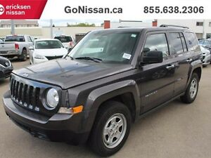 2016 Jeep Patriot Sport, Remote Entry, Great on gas..