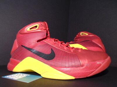 c299fc432f54 2008 Nike HYPERDUNK CHINA OLYMPIC SPORT RED BLACK MAIZE YELLOW 324820-602  11.5