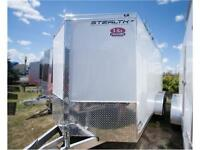 SALE: Stealth UltraLite 7 x 16 - RAMP - enclosed cargo trailer