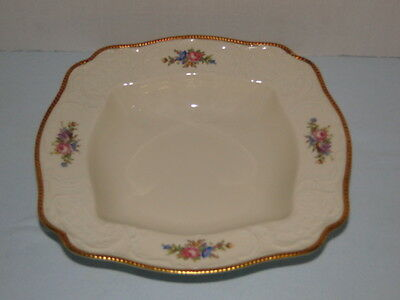 ROSENTHAL OF GERMANY SANSSOUCI LARGE SQUARE VEGETABLE DISH / BOWL DATED 1944