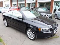 VOLVO C70 2.4 SE 2d 170 BHP NOW REDUCED BY £500! (black) 2006