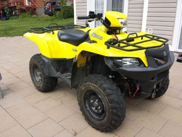 2011 suzuki king quad 750 pictures to pin on pinterest