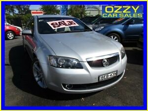 2007 Holden Calais VE MY08 V International Silver 5 Speed Automatic Sedan Minto Campbelltown Area Preview