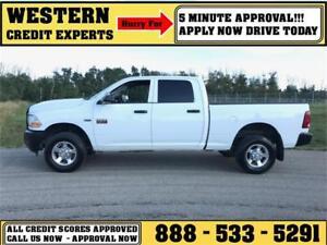 2012 Ram 2500 HD 4x4 Crew Cab ~ 5.7L Hemi Tow Package $188 B/W