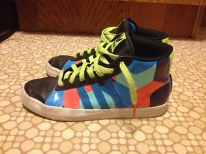 Ladies Size 8 Adidas Hightop Sneakers St. John's Newfoundland image 1