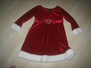 Robe de Noel Fille et pantallon court