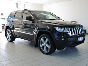 2011 Jeep Grand Cherokee WK Overland (4x4) Black 5 Speed Automatic Wagon Morley Bayswater Area Preview