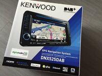 Kenwood DNX525 DAB DVD Sat Nav