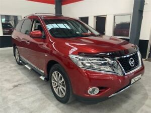2015 Nissan Pathfinder R52 MY15 ST-L Burgundy Constant Variable Wagon