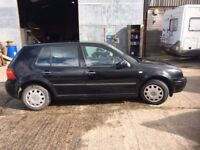 Black VW Golf, Great Condition, Perfect First Car or Reliable Runaround