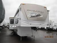 WOW! Durango 35' Fifth Wheels with 3 Slides, Rear Living!