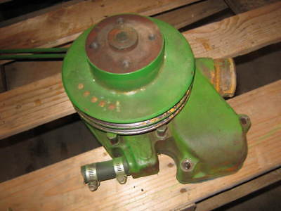 John Deere 4520 Water Pump And Pulley